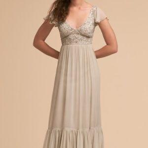 "NWT. BHLDN Daphne Dress - ""Morning Mist"" (Size 16)"
